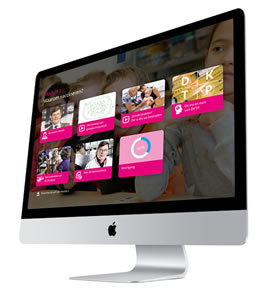 iMac met e learning