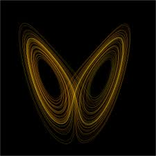 De Lorentz attractor